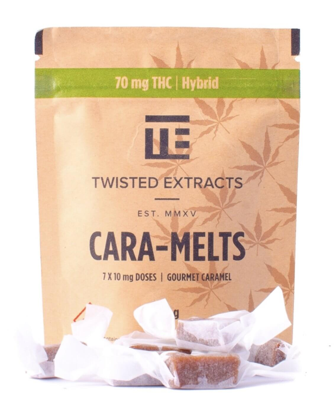 Twisted Extracts Caramelts