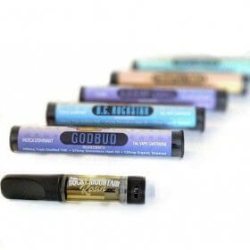Rocky Mountain Rosin Vape Carts
