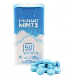 Baked Enchanted Mints