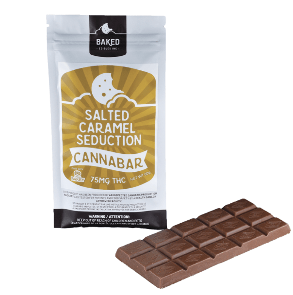 Baked Edibles - Salted Caramel Seduction Cannabar