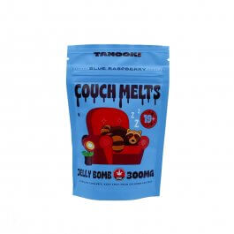 Tanooki Edibles – 300mg Couch Melts - Blue Raspberry