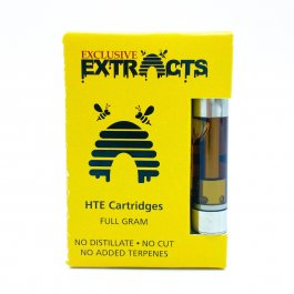 Exclusive Extracts - HTE Vape Carts.