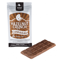 Baked Edibles- Hazelnut Crunch bar